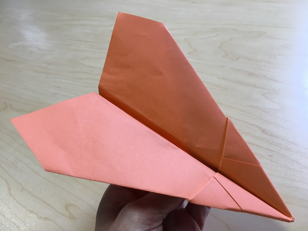 Arrowhead Paper Airplane