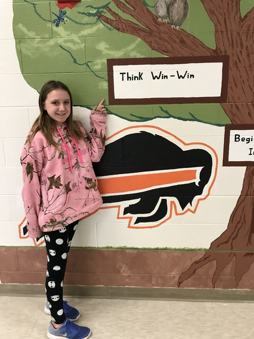 6th Grade Leader of the Week Vanessa Koelling