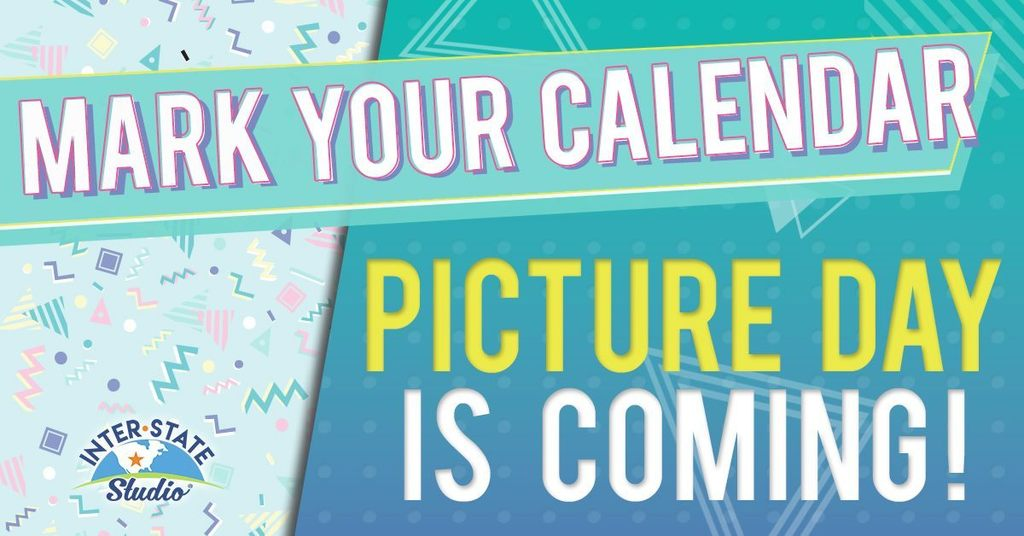 School Picture Day is in 2 Weeks. August 30th!