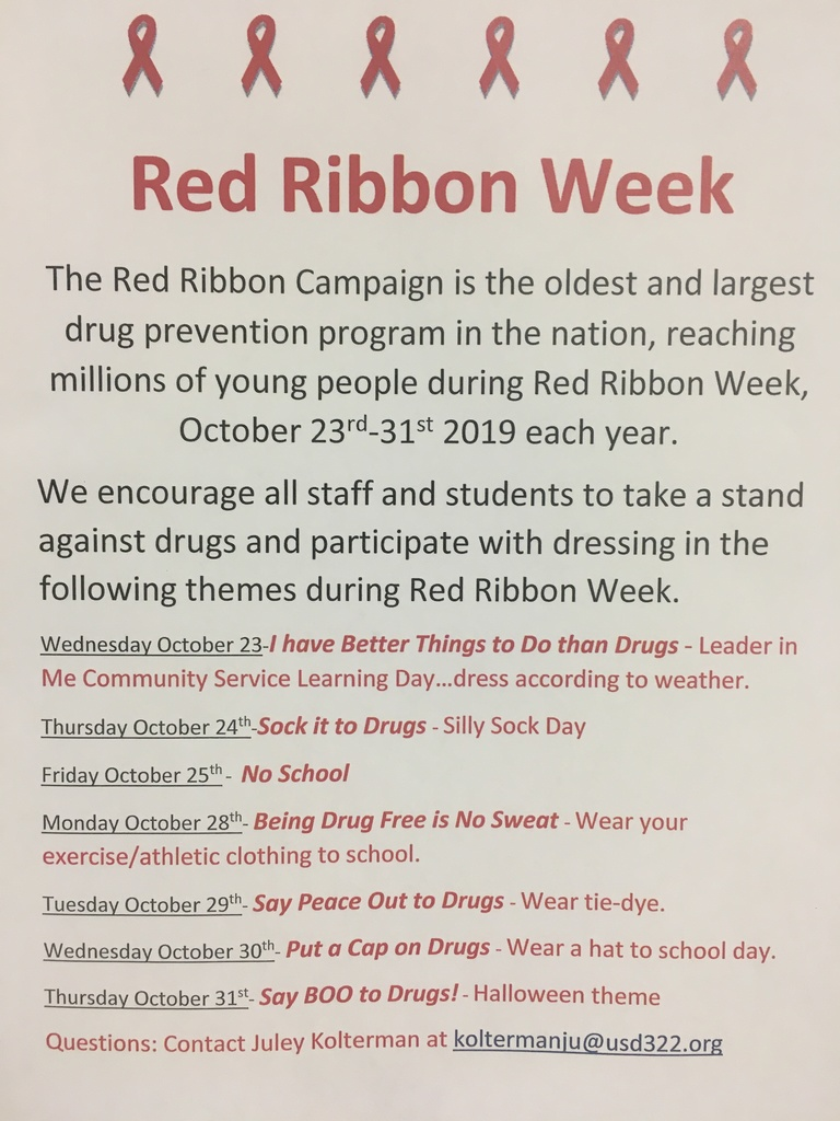 Red Ribbon Week 2019
