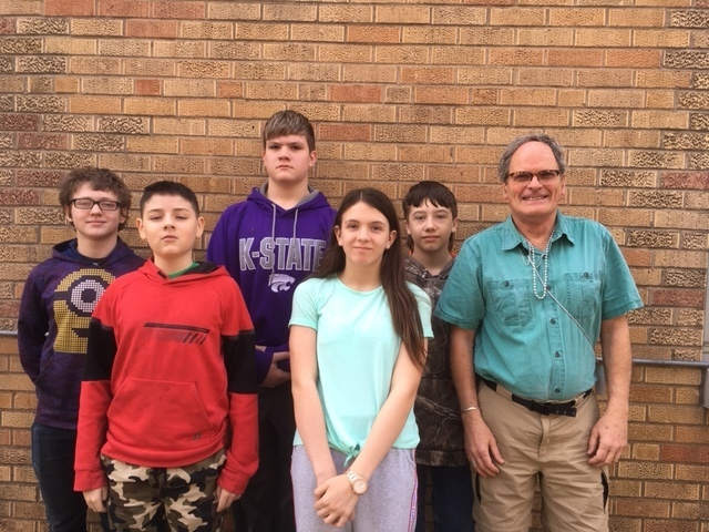 7th Grade Scholars Bowl Team